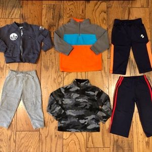 Boys Jackets, Pullovers, Sweat Pants Lot